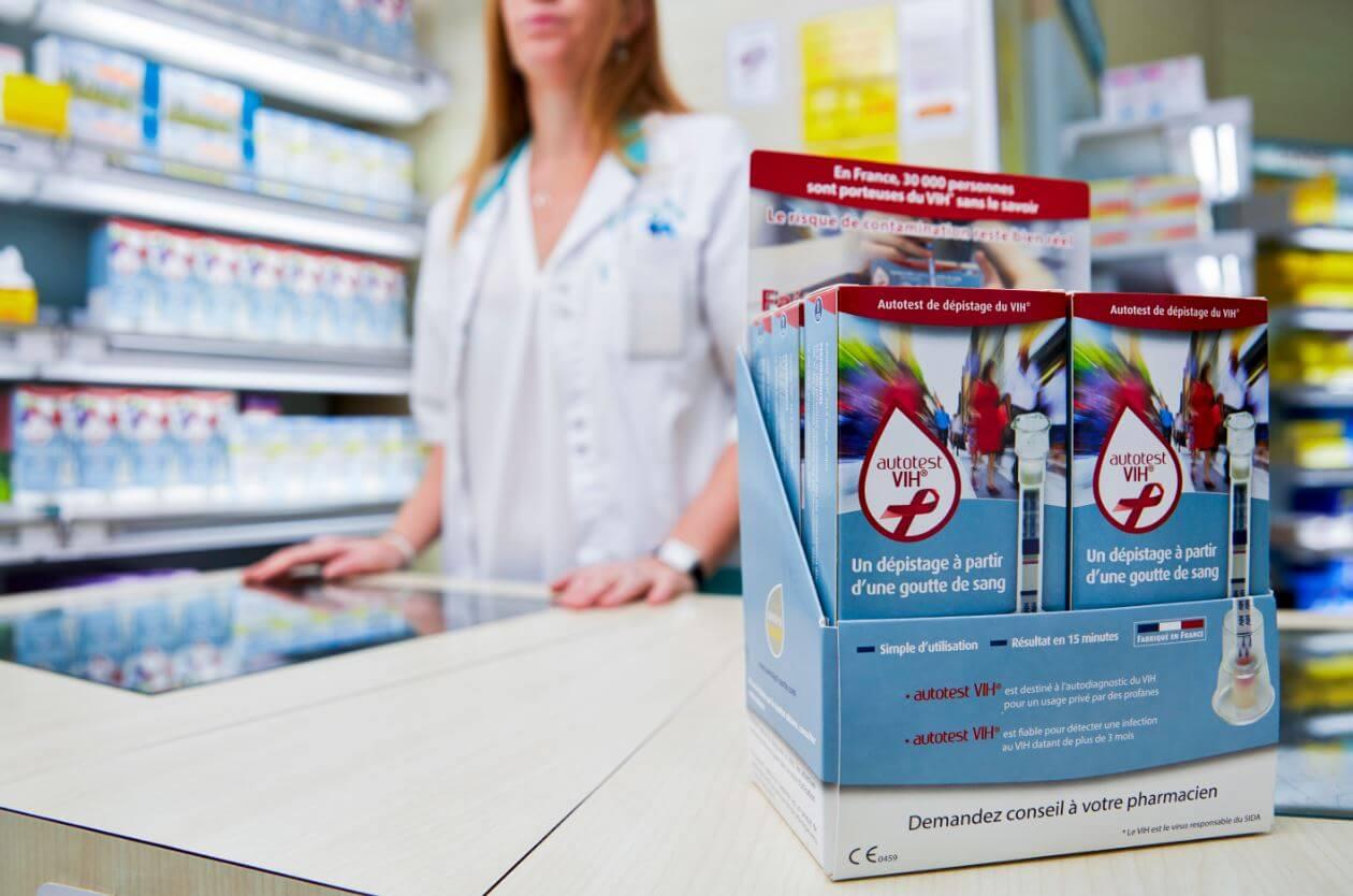 autotest VIh in pharmacies